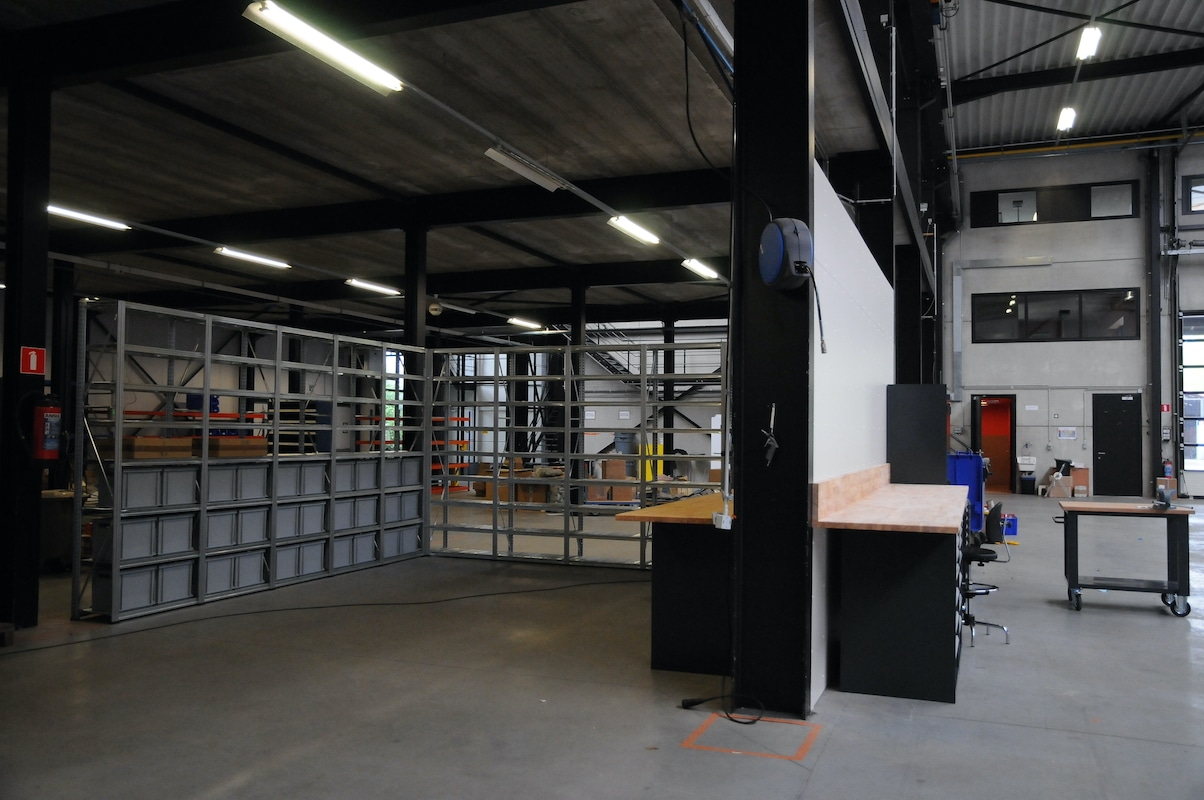 Werkplaats make-over - Godevaart 2
