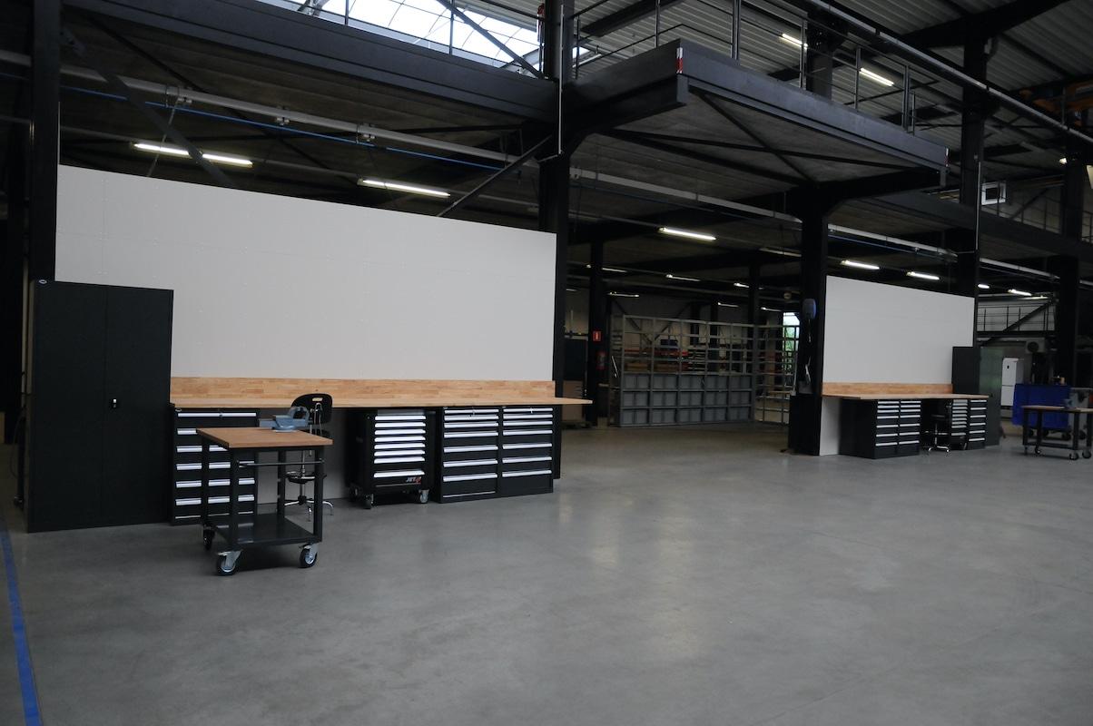 Werkplaats make-over - Godevaart 3