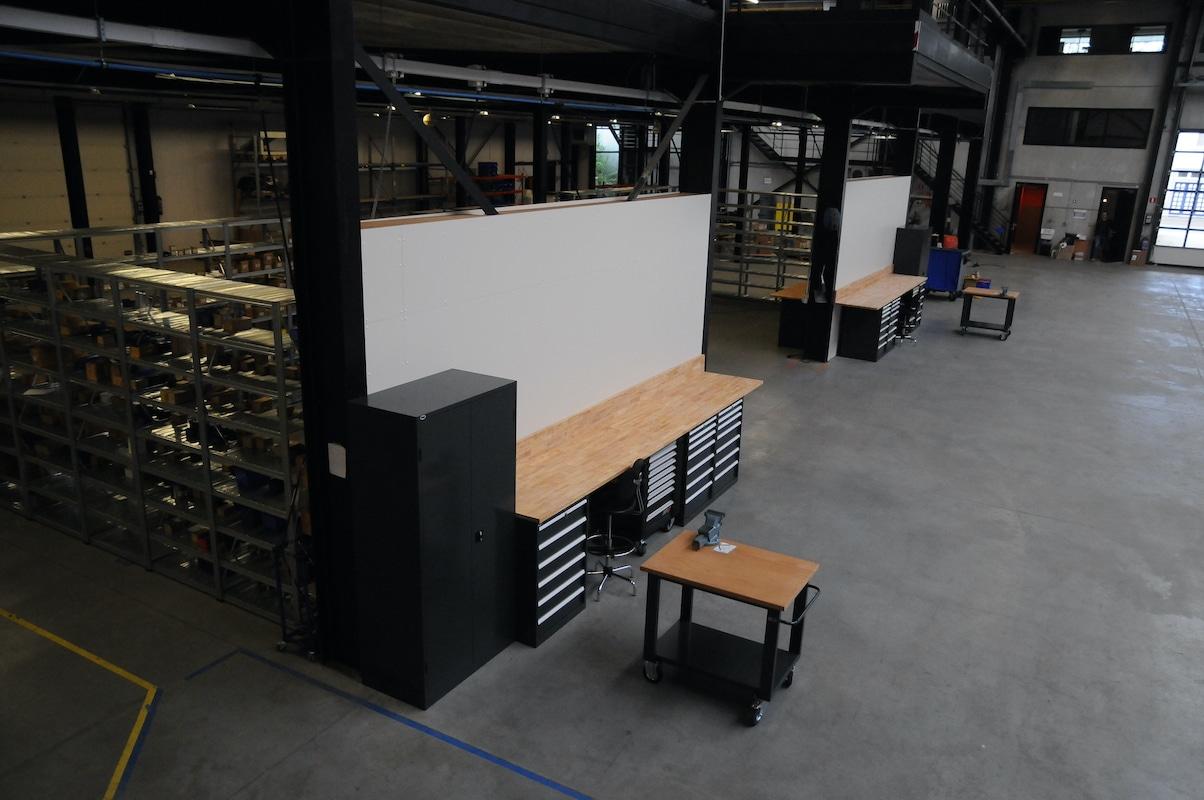 Werkplaats make-over - Godevaart 4