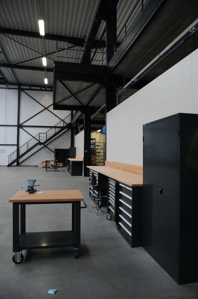 Werkplaats make-over - Godevaart